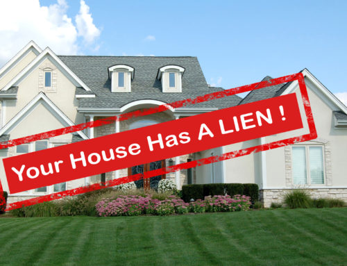 Can I sell my house with a lien on it?